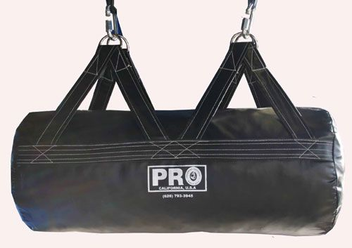 PRO Uppercut Boxing Heavy Bag (Old School Style) Solid Black