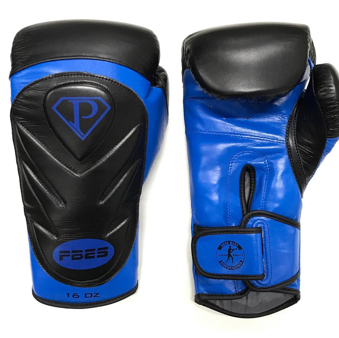 PRO Training Gloves Black/Blue