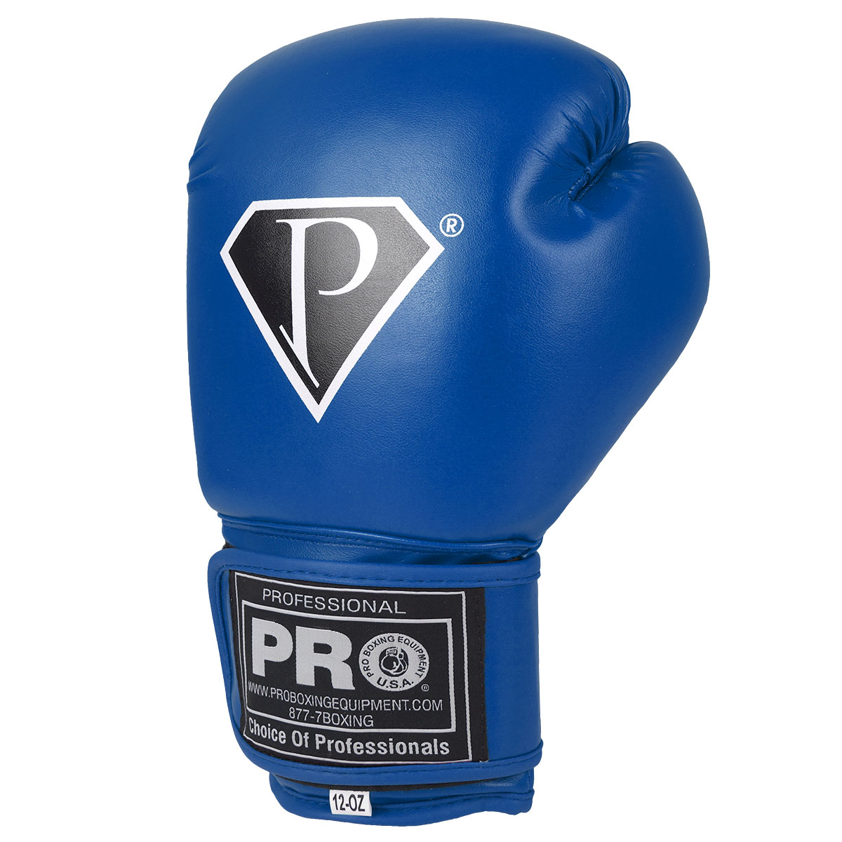 PRO Deluxe Boxing Gloves Blue