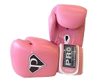 Pro Leather Deluxe Training Gloves Pink