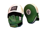 Pro Leather Curve Focus Mitts Green