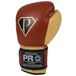 PRO Boxing Gloves Classic Leather Velcro