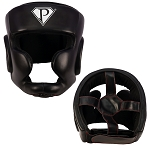 PRO Boxing Full Face Headgear Leather