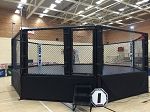 PRO 22 X 22 OCTAGON MMA CAGE