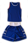 PRO Amateur Boxing Uniform Set Blue
