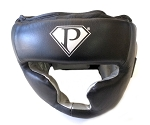 Pro Full Face Head Gear Black And Silver