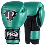 PRO BOXING GLOVES LEATHER VELCRO