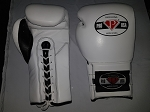 PRO USA TRAINING GLOVES WHITE