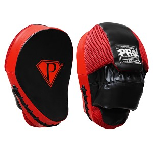 PRO Curve Focus Mitts Black/Red