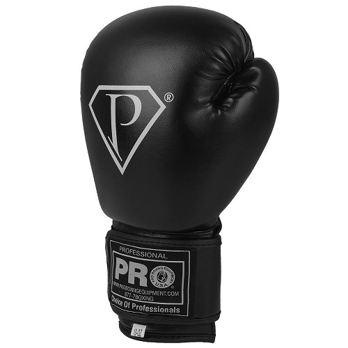 PRO Deluxe Boxing Gloves Black