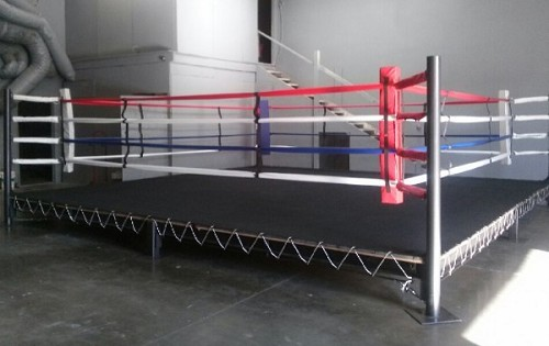 PRO BOXING RING (24'X24') WOOD NOT INCLUDED