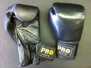 Pro Leather Training Bag Gloves
