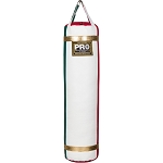 PRO 5 FT Large Custom White Heavy Punching Bag Made in USA