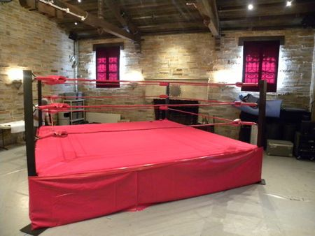 Used Real Wrestling Rings For Sale