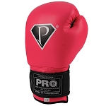 PRO Boxing Gloves Rose Red Deluxe Series