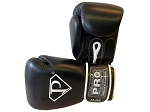 PRO Leather Deluxe Training Gloves, Black