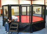 Professional MMA Hexagon Cage Rentals