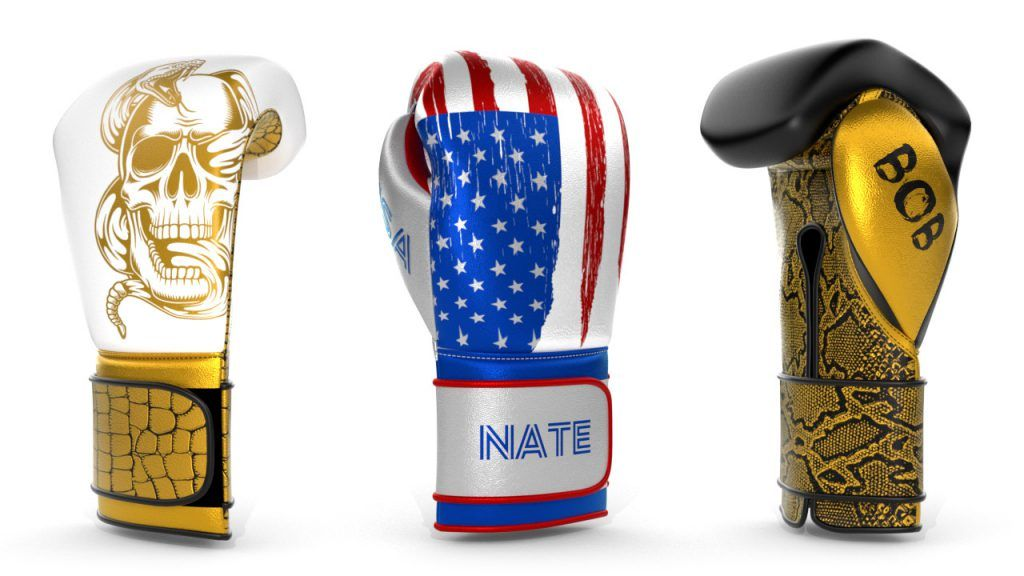 CUSTOM PRO BOXING GLOVES