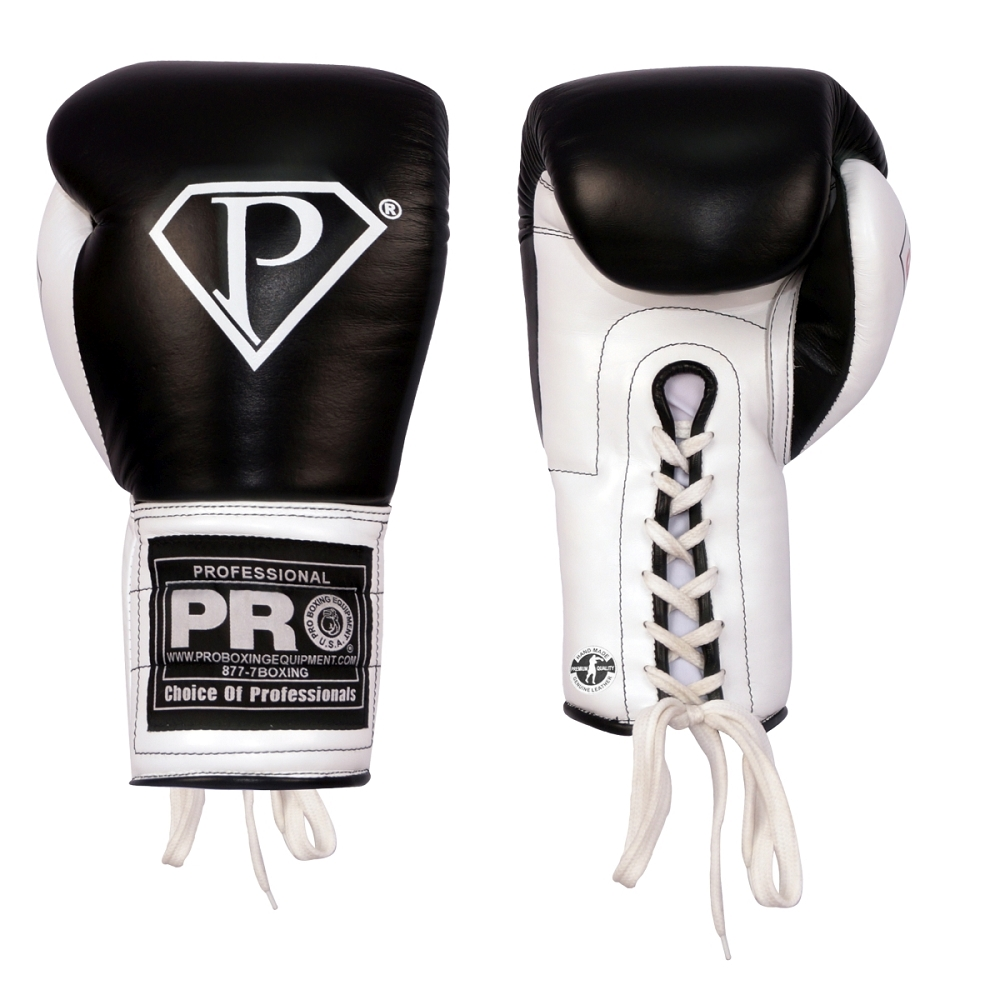 PRO Boxing Gloves Lace Up