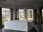 PRO BOXING RING (10' X 10') COMPLETE WOOD INCLUDED