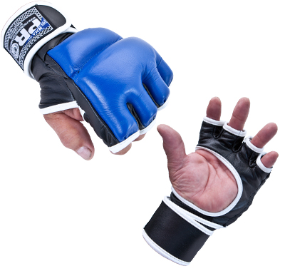 Pro Deluxe MMA Fight Gloves (Without Thumb)
