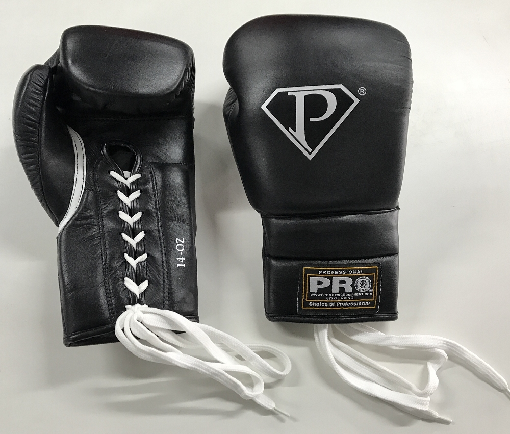 Professional Training Gloves 16 oz Lace Up