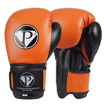 PRO Boxing Gloves Orange Black