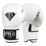 PRO Boxing Gloves White