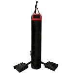 Muay Thai Heavy Bag Stand 350lbs Capacity. Heavy Duty Punching Bag Stand with 4 Sand Bags