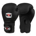 PRO USA Boxing Gloves Matte Black