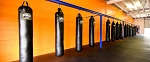 PRO 150 lbs Kickboxing Heavy 6' Punching Bag SET