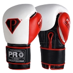 PRO Professional Hook-N-Loop GEL Boxing Gloves