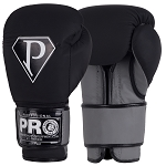 PRO BOXING GLOVES MATTE BLACK