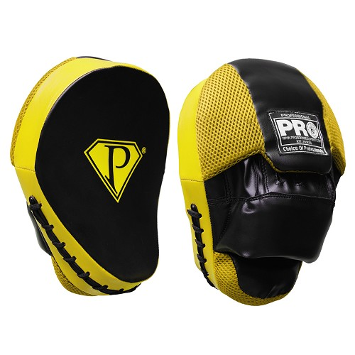 PRO Curve Focus Mitts Black/Yellow