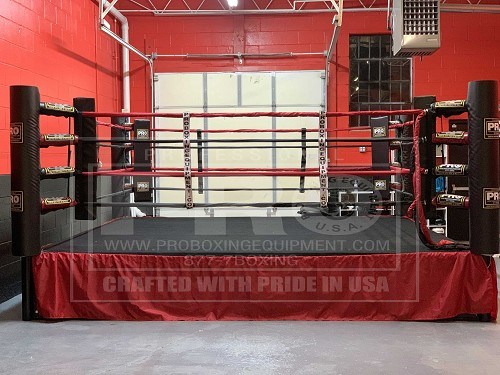 PRO BOXING RING 14X14 MADE IN USA