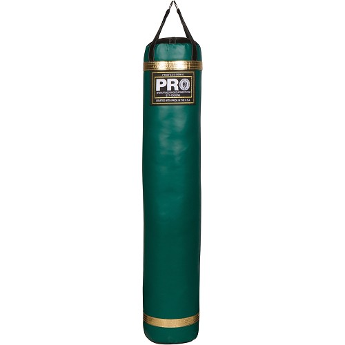 PRO BOXING 6 FEET BANANA BAG 150 LBS LIFETIME WARRANTY MADE IN USA