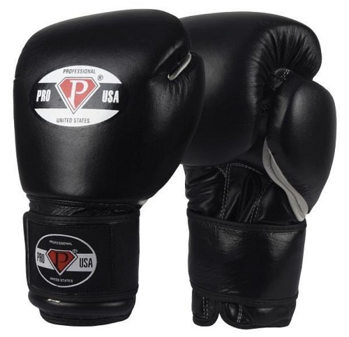 PRO USA Professional Hook-N-Loop Boxing Gloves