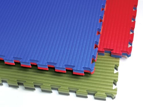 Reversible Interlocking Puzzle Gym Mats, 2