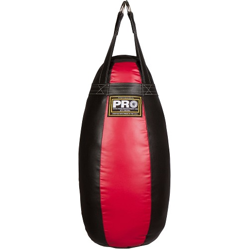 PRO BOXING THAI TEAR DROP HEAVY BAG LIFETIME WARRANTY MADE IN USA